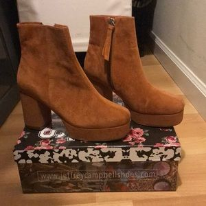 Jeffrey Campbell Ankle Boot (Never been worn)